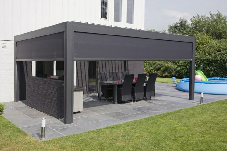 pergola algarve pergoly renson liniedesign. Black Bedroom Furniture Sets. Home Design Ideas